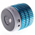 Bluetooth Speaker with TF Card Function  Sky Blue