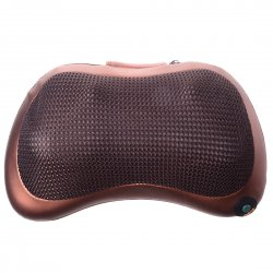 Multi Function Massager Cervical Vertebra Massager Cushion Pillow Car Use 4 Rollers