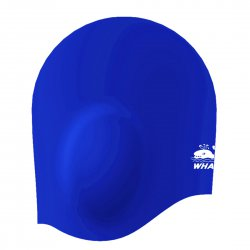 3D Swim Cap With Ear Protection Design For Adults CAP1700 Blue