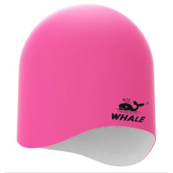 3D Swim Cap For Adults Reversible CAP1800 White+Pink