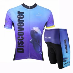008 SPORT Cycling Men's Short Sleeve Jersey and Pants Set L