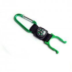 Climbing Carabiner Water Bottle Hooker Decoration Compass