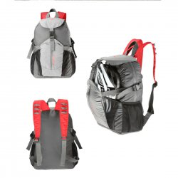 15614 Cycling Bike Bicycle Foldable Backpack Gray