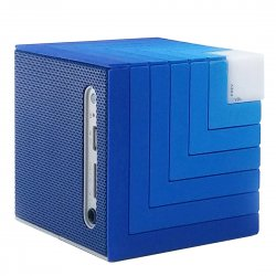 Colorful Music Cube Wireless Bluetooth Speaker Portable TF Card Blue