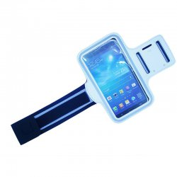 Outdoor Sport Gym Arm Band Case forSamsung MEGA 6.3 (9200) white