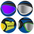 Plain Glass Swimming Goggles Large Frame Anti Fog Goggles