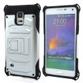 for Samsung Note 4 Phone Case Holster  Silver