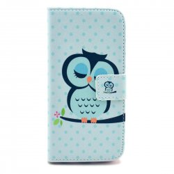 Phone Case for iphone6/iphone 6S PU Leather Phone Cover Cartoon Owl Pattern