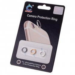 For Iphone6 of 4.7 Inch Camera Protection Ring Golden Silver Black 3-in-1