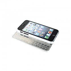 Phone Wireless Bluetooth Keyboard for iPhone 5,Black