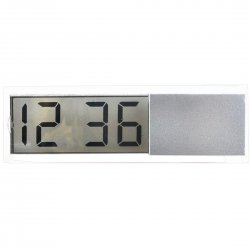 Electronic Clock Suitable Use in Cars Suction Cup