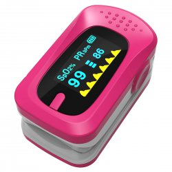 Pulse Oximeter Fingertip Oxygen Monitor Red