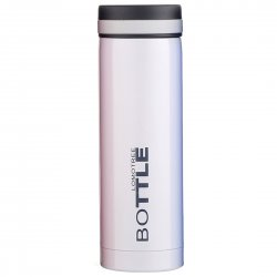 Vacuum Cup Stainless Steel Mug Insulated Water Bottle Keep Cold/Hot  300ml White