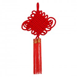 Chinese Style Decorate Pendant Traditional Lint Chinese Knot 14 Coils