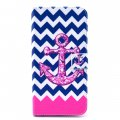 Phone Case for iPhone 6 plus/iPhone 6S plus Phone Cover Pink Anchor Pattern