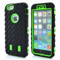 Protector for ip6 tires ripple PC+ silica green