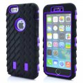 Protector for ip6 tires ripple PC+ silica gel purple