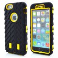 Protector for ip6 tires ripple PC+ silica yellow