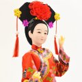 Tourist Souvenir Chinese Characteristics of Silk People