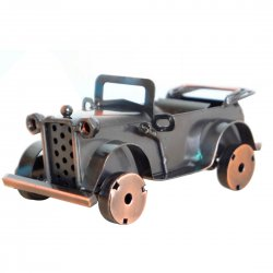 Creative Home Decoration Iron Model Knick-knacks Retro Classic Car Model Bronze