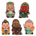Tourist Souvenir Little Ceramic Ornaments Cartoon Cold Porcelain Clay Figurines