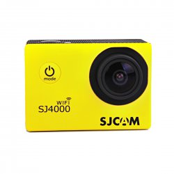 Outddor Sport Camera Water Proof Diving Ultra Wide Angle Lens Wifi Yellow