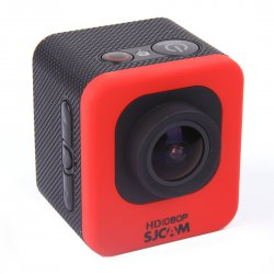 Outddor Sport Camera Ultra Wide Angle Lens Mni Red