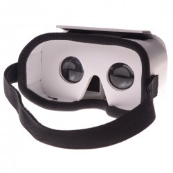DIY VR Glasses Head Mounted 3D Smart Phone VR Glasses VR Paper Box White