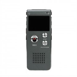 SK-012 Muiti-function Best USB Digital Audio Voice Recorder 4GB Gray