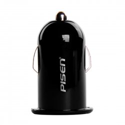 Car Charger For HTC Phone Cigarette Lighter Black