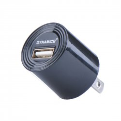 US Standard Adapter UL Round Shape Power Charger For Andriod and Apple Phones Black