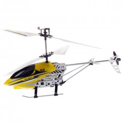 Mini Remote Control Helicopter Yellow