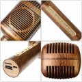 Newly Portable Wireless Karaoke Microphone Bluetooth Speaker Handheld Singing Machine  Antique Brass