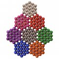 Magnetic Decompression Ball Educational Toys for Children Adults 5mm Pack of 216