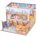 3D Wooden Puzzle DIY Model Warm Sweet Home