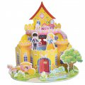 Funny Puzzle  3D Puzzle The Castle Theme Form Board