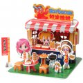 Funny Puzzle  3D Puzzle Barbecue Restaurant Theme Form Board