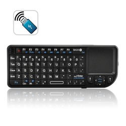 2.4G Wireless Mini Keyboard with Touchpad + Laser Pointer