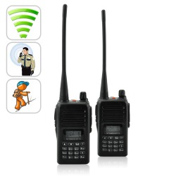 2 X Long Range Walkie Talkie Set UHF  220v