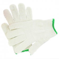 A Level Chimney Cotton Fine Yarns Gloves Wear Resistant Labor Protection Gloves 45g