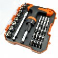 Hardware Tool 32 in 1 Scalable Screwdriver Kit Set Ratchet Wheel Screwdriver