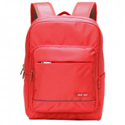 Campus Style Backpack 15'' Laptop Large Capacity  Red