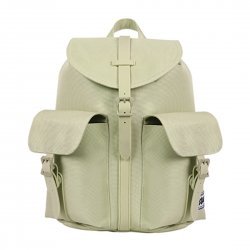 Fashion Girl Backpack Computer Laptop Bag Water-repellent Green