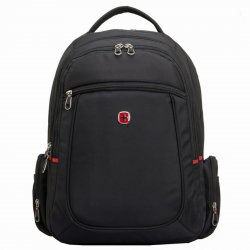 New Style Bussiness Casual Backpack 15.6'' Laptop Backpack Black