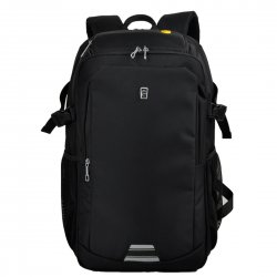 Business Pure Color Backpack Large Capacity Laptop Backpack Medium Size