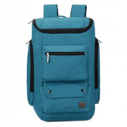 Unisex Business Casual Backpack Computer Bag Blue