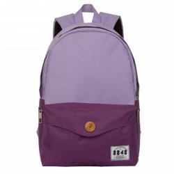 Shoulder Bag School Bag Backpack Light purple +Dark purple