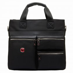 Men's Shoulder Bag Business Bag Black