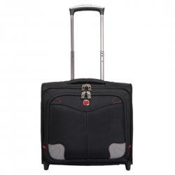 Computer Luggage Suitcase Trolley Case 15 Inch Black