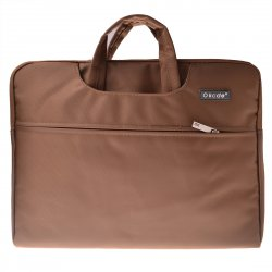Laptop Bag For Apple Light Weight Simple Style Laptop Bag Liner Package 15.4' Brown